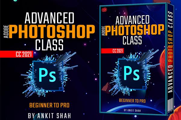Advanced Photoshop Class cover