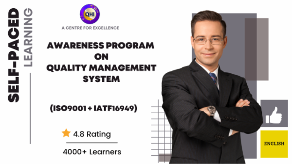 Awareness Training on Automotive Quality Management System (IATF16949:2016) - English cover