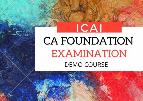 CA Foundation - Demo Course cover