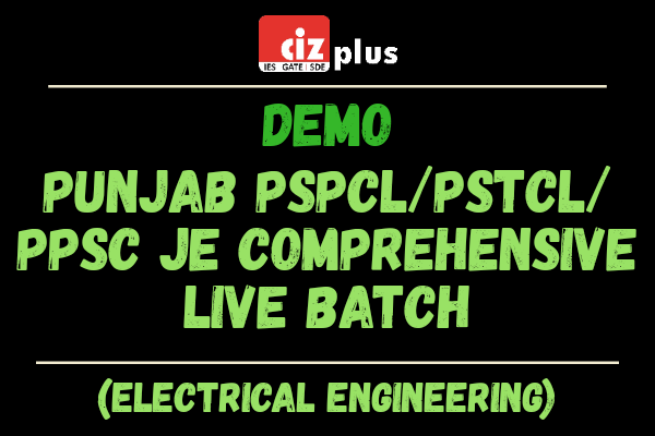 DEMO | Punjab PSPCL/PSTCL/PPSC JE (Electrical) Comprehensive Live Batch cover