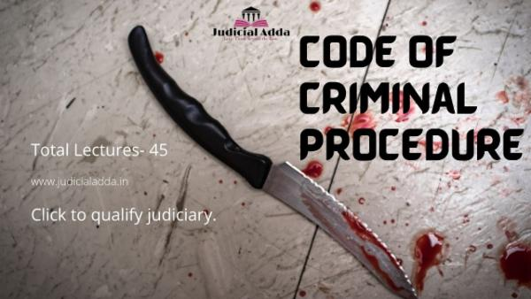 Code of Criminal Procedure cover