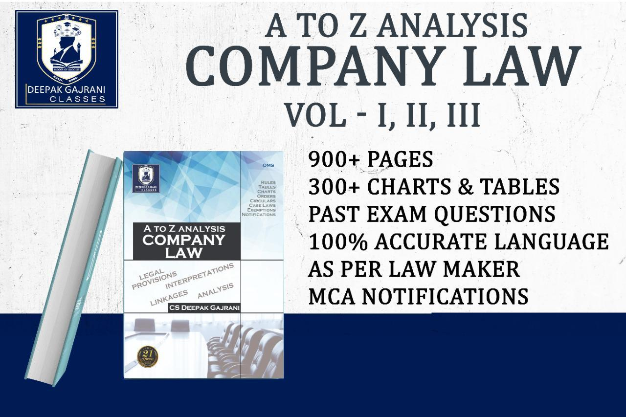 OMS_Company Law Books cover