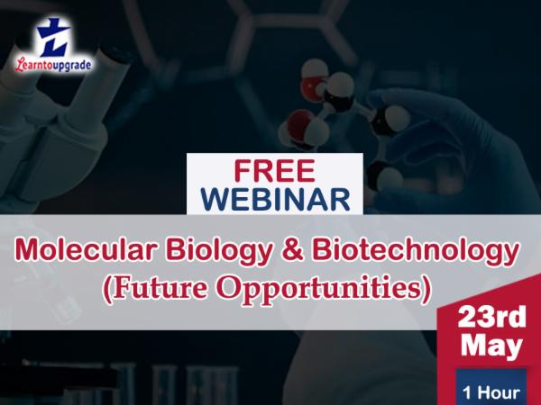 Future opportunities in MB & Biotechnology- 23rd May cover