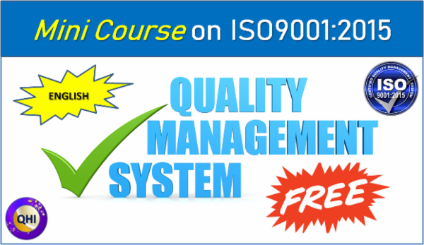Mini Course - Quality Management System (ISO9001:2015) cover