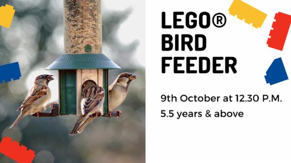 LEGO Bird Feeder cover