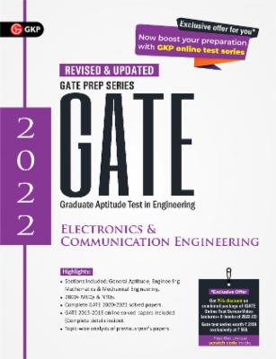 GATE 2022 - Electronics and Communication Engineering - Guide cover