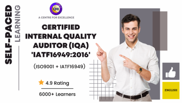 Certified Internal Quality Auditor -ISO9001:2015 + IATF16949:2016 - English cover