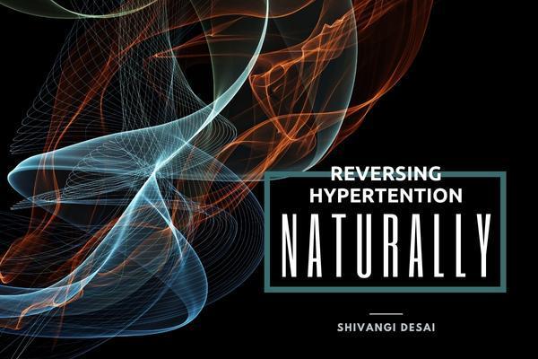 Reversing Hypertension Naturally cover