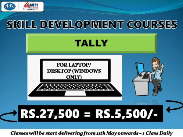 TALLY - FOR LAPTOP/DESKTOP (WINDOWS ONLY) cover