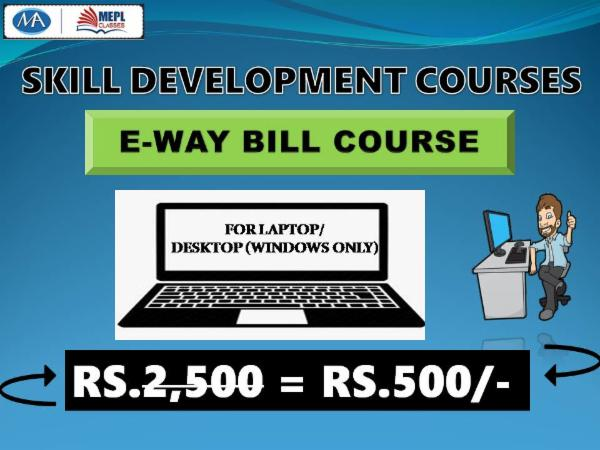 E-WAY BILL COURSE - FOR LAPTOP/DESKTOP (WINDOWS ONLY) cover