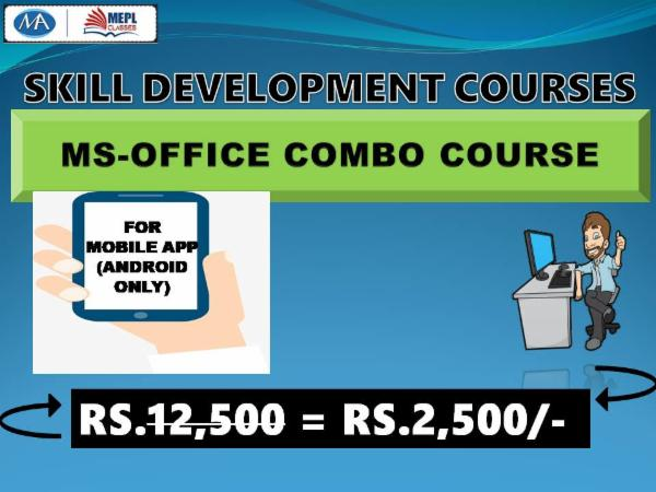 MS OFFICE COURSE(COMBO) - FOR MOBILE APP (ANDROID ONLY) cover