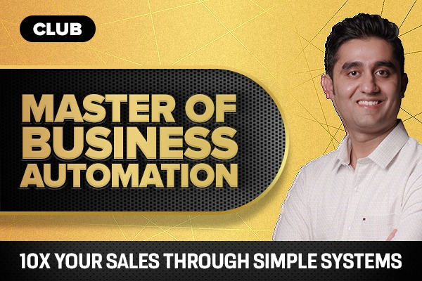 Master of Business Automation cover