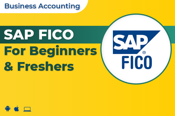 SAP FICO For Beginners & Freshers cover