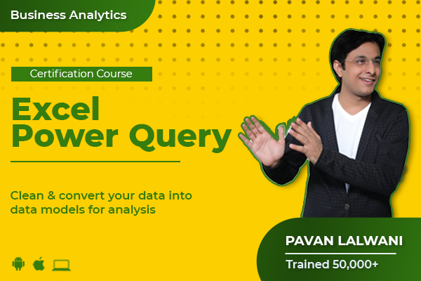 Excel - Power Query cover