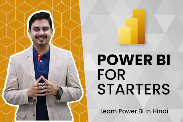 Power BI for Starters cover