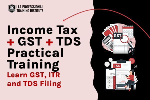 A to Z of Income Tax , TDS & GST Compliance cover