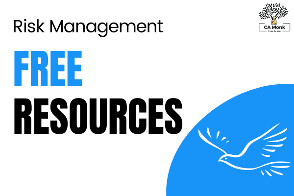 Risk Management CA Final Free Resources cover