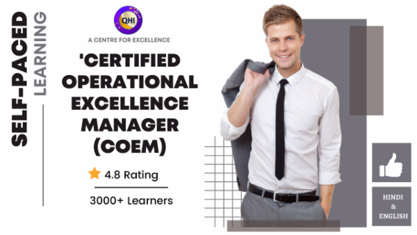 Certified Operational Excellence Manager (COEM) cover