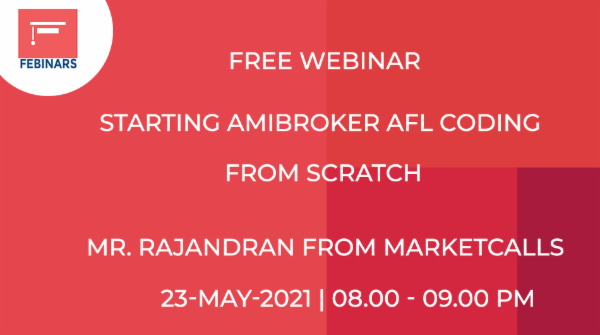 Starting Amibroker AFL Coding From Scratch cover