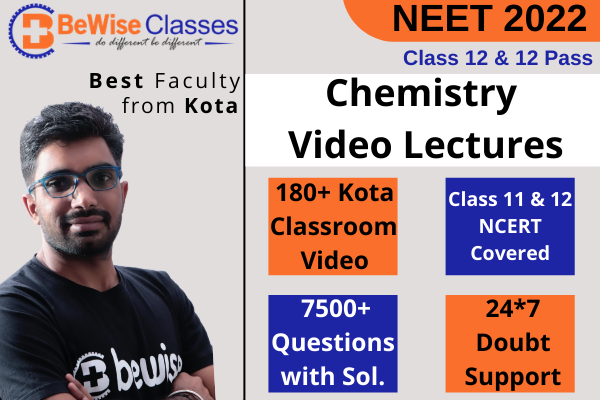 Chemistry Video Lectures for NEET 2022 cover