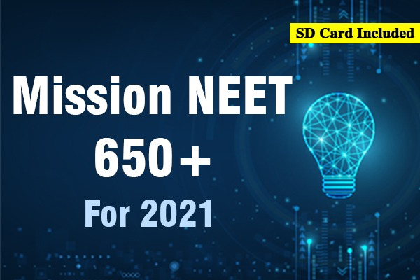 Mission NEET 650+ Course (For Target 2021) cover