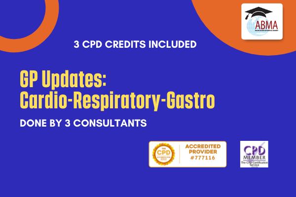 GP Updates: Cardio-Respiratory-Gastro cover