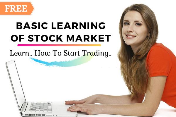 Basic Learning of Stock Market cover