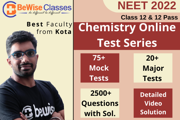 Chemistry Test Series for NEET 2022 cover