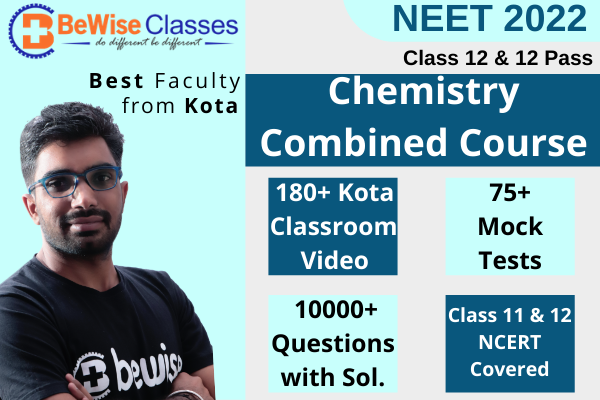 NEET 2022 Chemistry Combo package - Video Lecture & Test Series cover