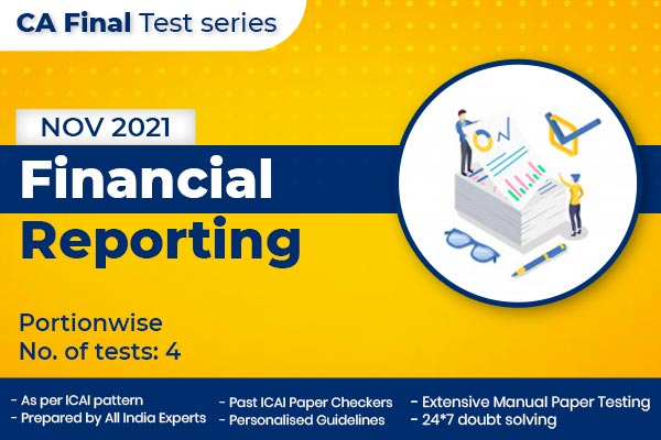 CA FINAL Financial Reporting PORTIONWISE cover