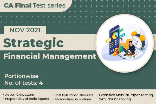 CA FINAL Strategic Financial Management PORTIONWISE cover