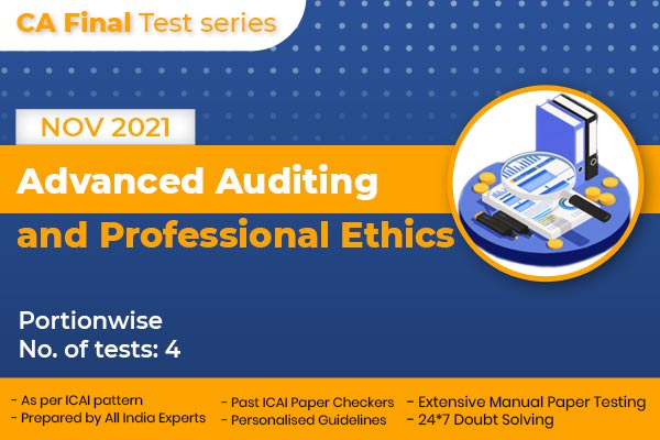 CA FINAL Advanced Auditing and Professional Ethics PORTIONWISE cover