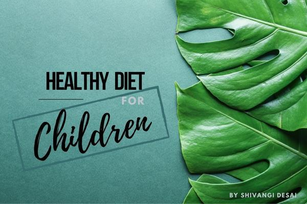 Healthy Diet for Children cover