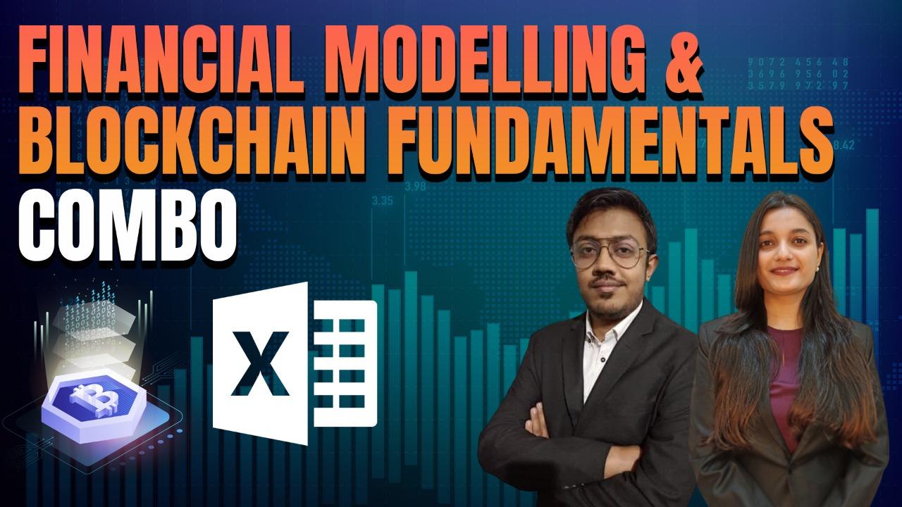 Financial Modelling & Blockchain Fundamentals Combo cover