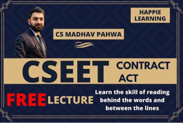 CSEET_Contract Act cover
