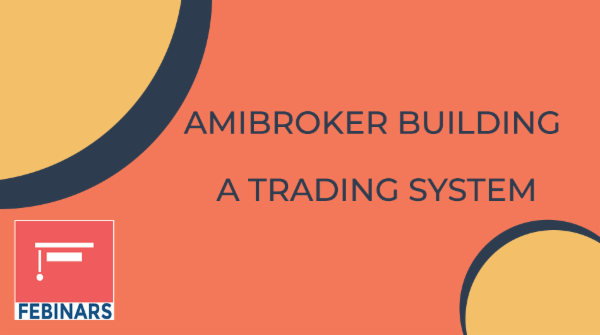 Building a Trading System using Amibroker cover