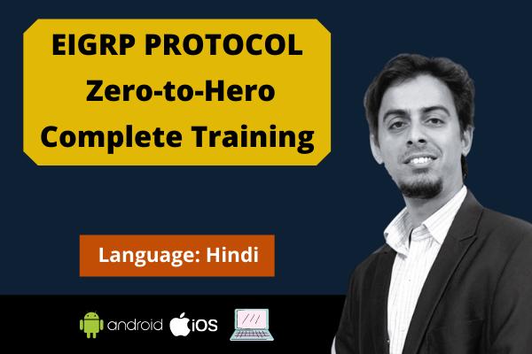 EIGRP Protocol: Zero to Hero Complete Training cover