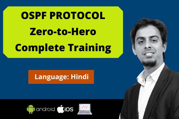 OSPF Protocol: Zero to Hero Complete Training cover