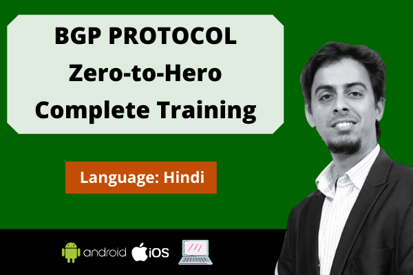 BGP Protocol: Zero to Hero Complete Training cover