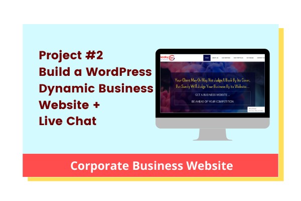 Build a Complete Corporate Business Website on WordPress cover
