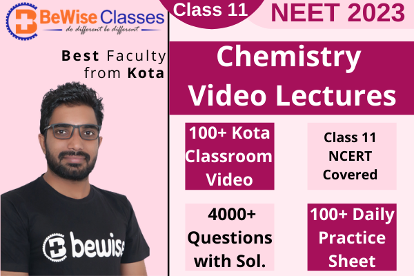 Class 11 Chemistry Video Lecture - Target NEET 2023 cover
