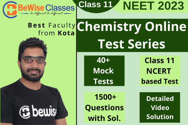 Class 11 - Chemistry NEET Online Test Series cover