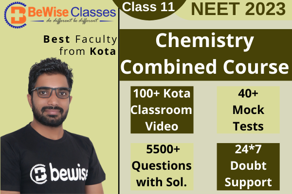 Class 11 Chemistry - NEET 2023 Combo Package (Video Lecture + Test Series) cover