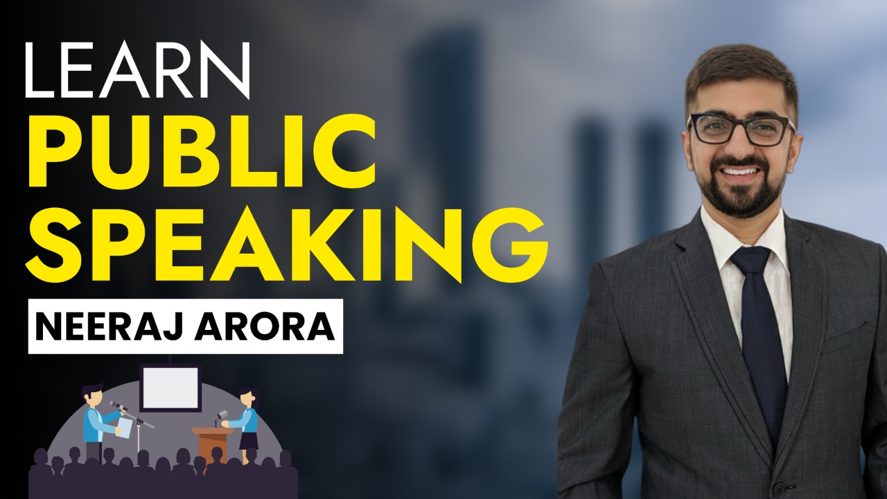 Learn Public Speaking cover