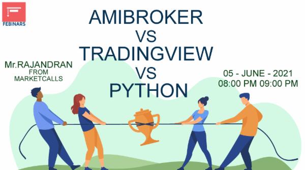 Amibroker Vs Tradingview Vs Python cover