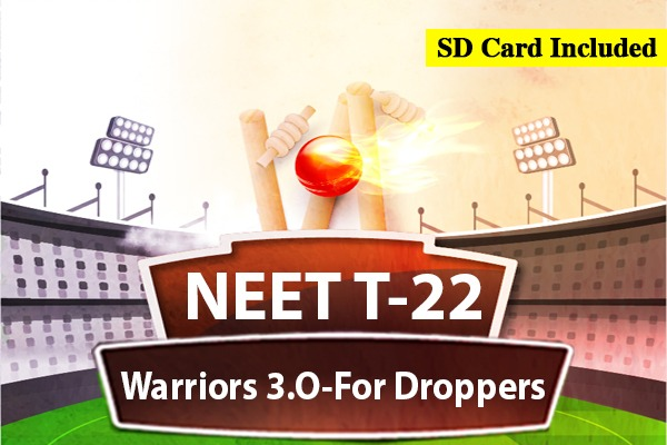 NEET T-22 Warriors 3.0 - For Droppers cover