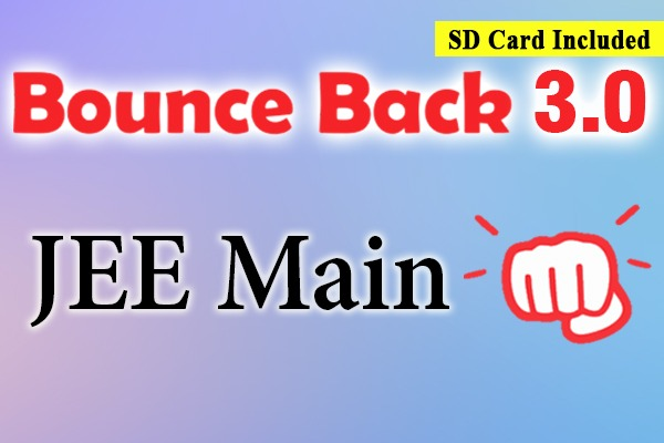 Bounce Back 3.0 Crash Course JEE 2021 (Main) cover