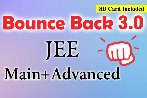 Bounce Back 3.0 Crash Course JEE 2021 (Main + Advanced) cover