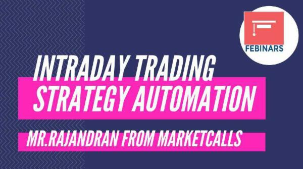 Intraday Trading Strategy Automation cover