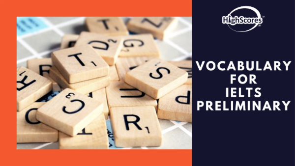 Vocabulary for IELTS - Preliminary cover